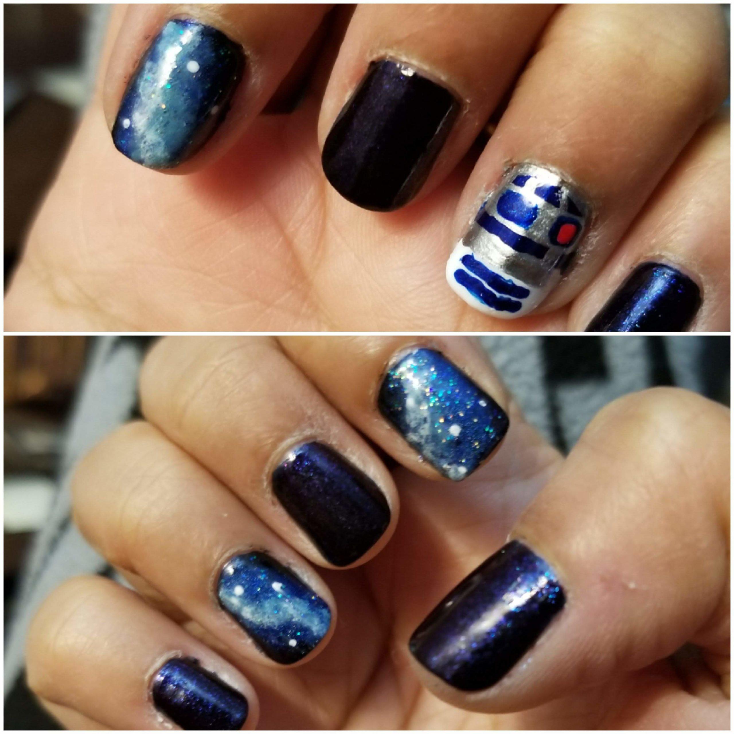Photo of Senani Ratnayake nail art