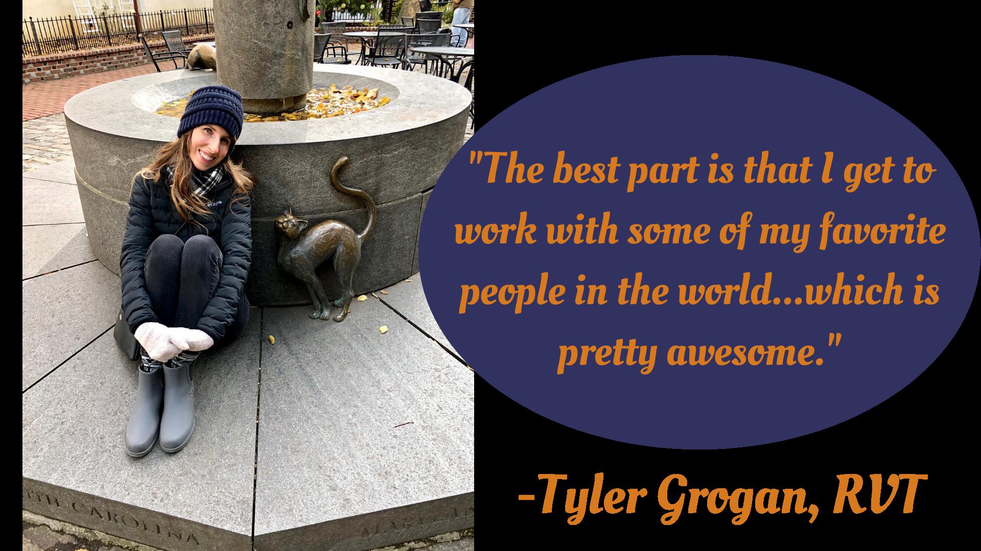 Tyler Grogan, RVT