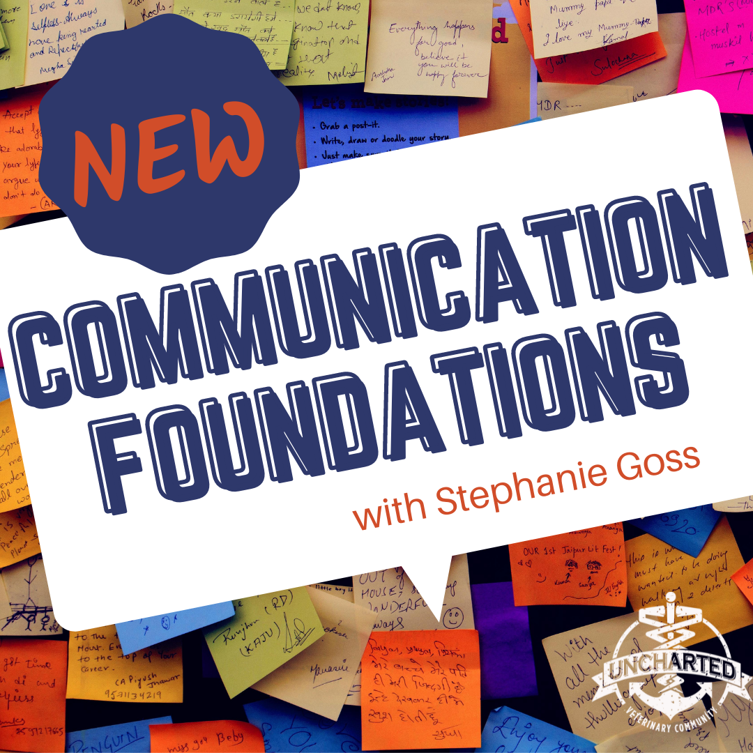 Communication Foundations with Stephanie Goss Workshop Graphic