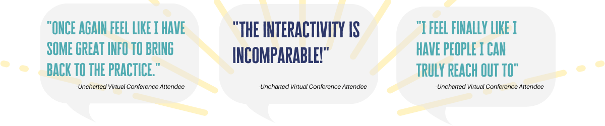 uncharted virtual conference testimonials