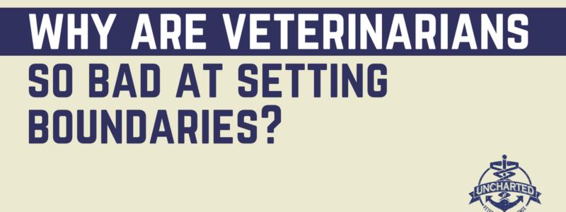 Why Are Veterinarians So Bad at Setting Boundaries?